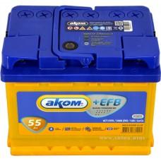 Baterie auto Akom EFB 6СТ-55VL