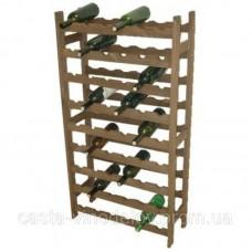 Стеллаж для бутылок «КАНТИНЕТТА», деревянный, на 54 бут. (12750)