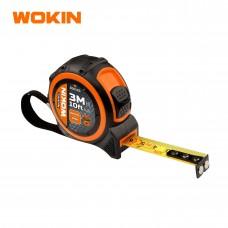 Ruleta de 3m x 16mm cu banda de retenție (Prof) Wokin 500103