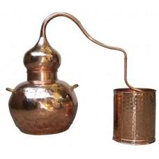 Аламбик на 20 литров, без колонны, паяный (1020)