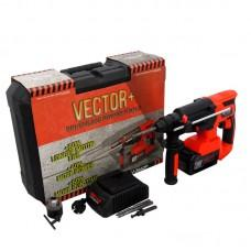 Перфоратор аккумуляторный 21V SDS-Plus VECTOR V-2660