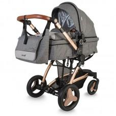 Carucior Coccolle Ambra 3 in 1 Grey
