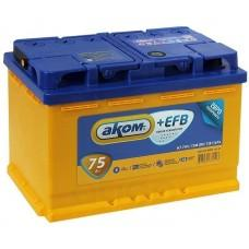 Baterie auto Akom EFB 6СТ-75VL