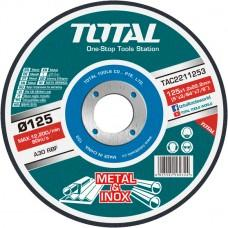 Disc pe metal 125mm Total TAC2211253