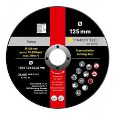 Disc de taiere metal Trotec 125 * 1,2 * 22