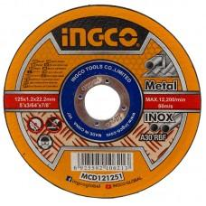 Disc pe metal 125 mm INGCO MCD121251